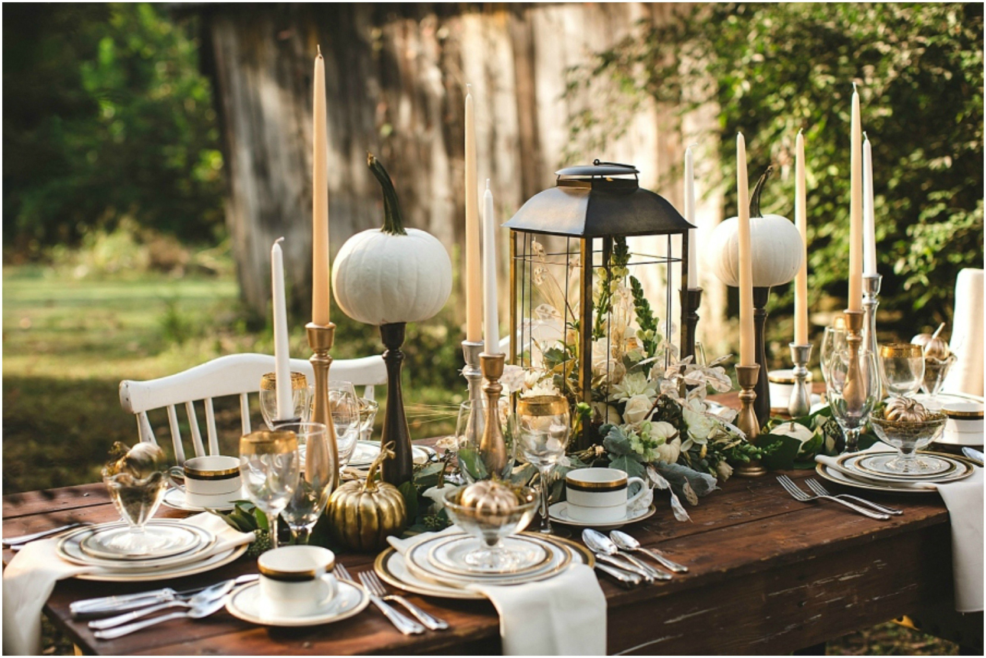 Tablescape Ideas Celebrating Another Year Of Thanksgiving  Interior Design With